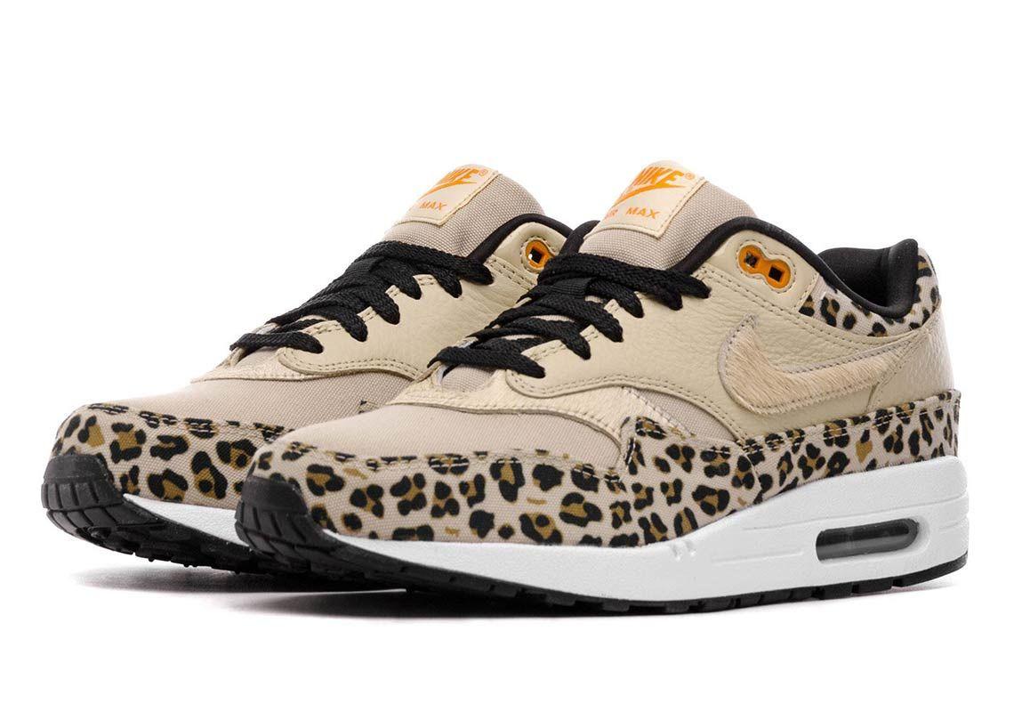 Nike Air Max 1 Leopard Women S Store List Info Sneakernews Com Leopard Nikes Nike Air Max Sneakers Nike Air Max