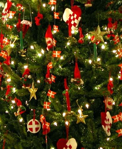 Danish Christmas Trees: Reminds Me Of My Mormors Tree, Just Missing The Candles