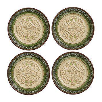Grandma's Celtic Plates