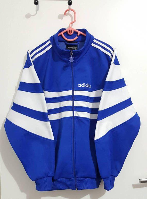 Veste sport Adidas Vintage Années 90 Taille S 168cm. | Veste