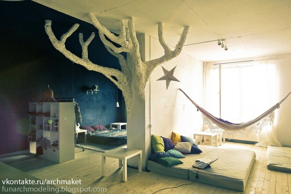 Delightful Whimsical Tree House Themed Room : Unique, Fantasy And Whimsical Kids Room  | Kids Room