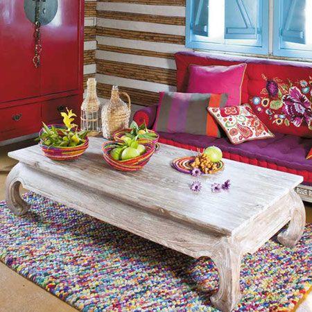 Polsterbank Aus Baumwolle Im Indischen Stil, Bunt Monoï Im Shop Von Maisons  Du Monde. Jetzt Neue Ausführungen U0026 Farben An Sofas Entdecken.