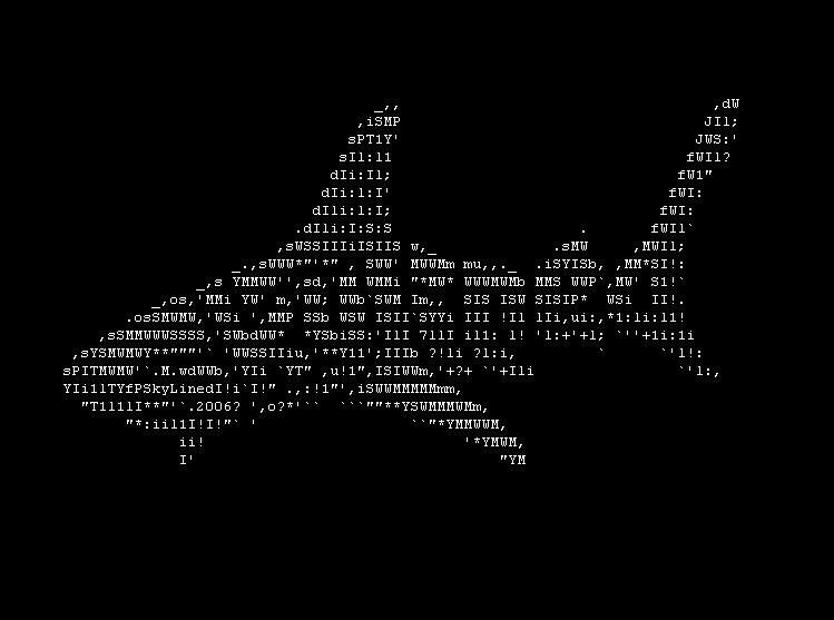 DeviantArt: More Like SkyLined Shark Ascii Art by skylined