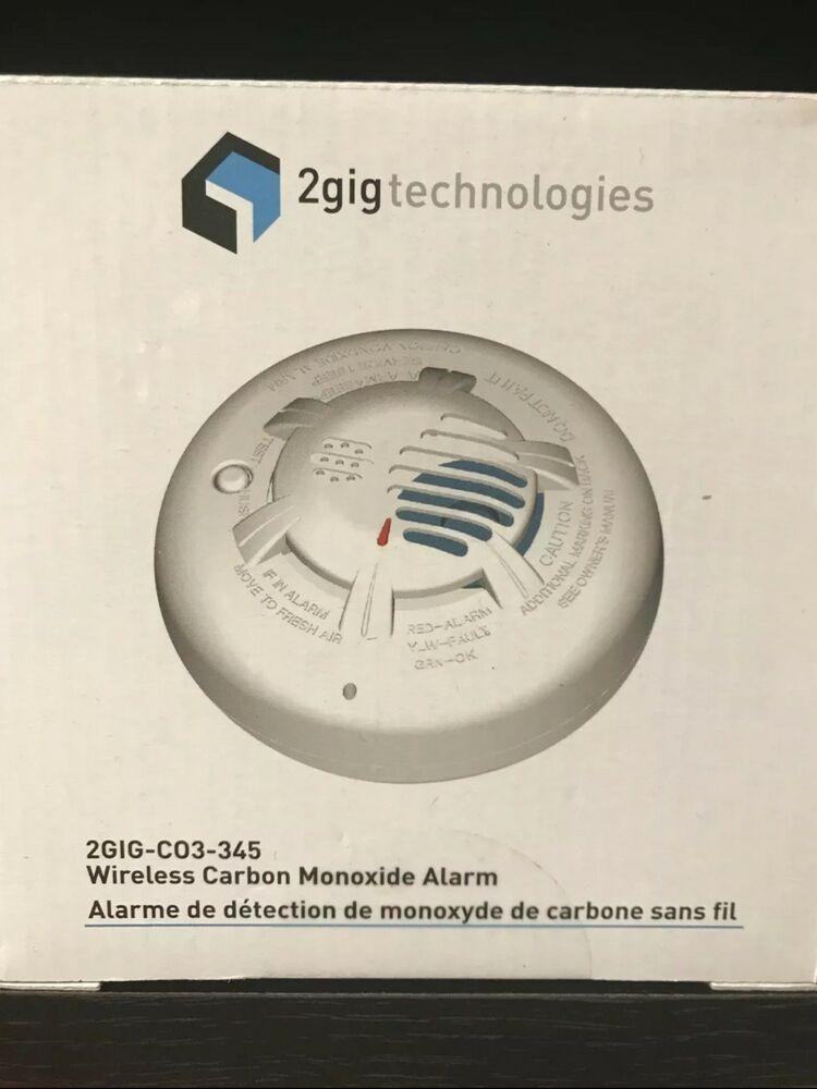 2gig C03 345 Wireless Carbon Monoxide Home Gas Alarm Detector Carbon Monoxide Carbon Monoxide Alarms Carbon