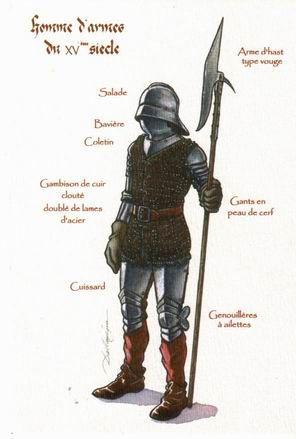 Homme d'armes du XVème siècle