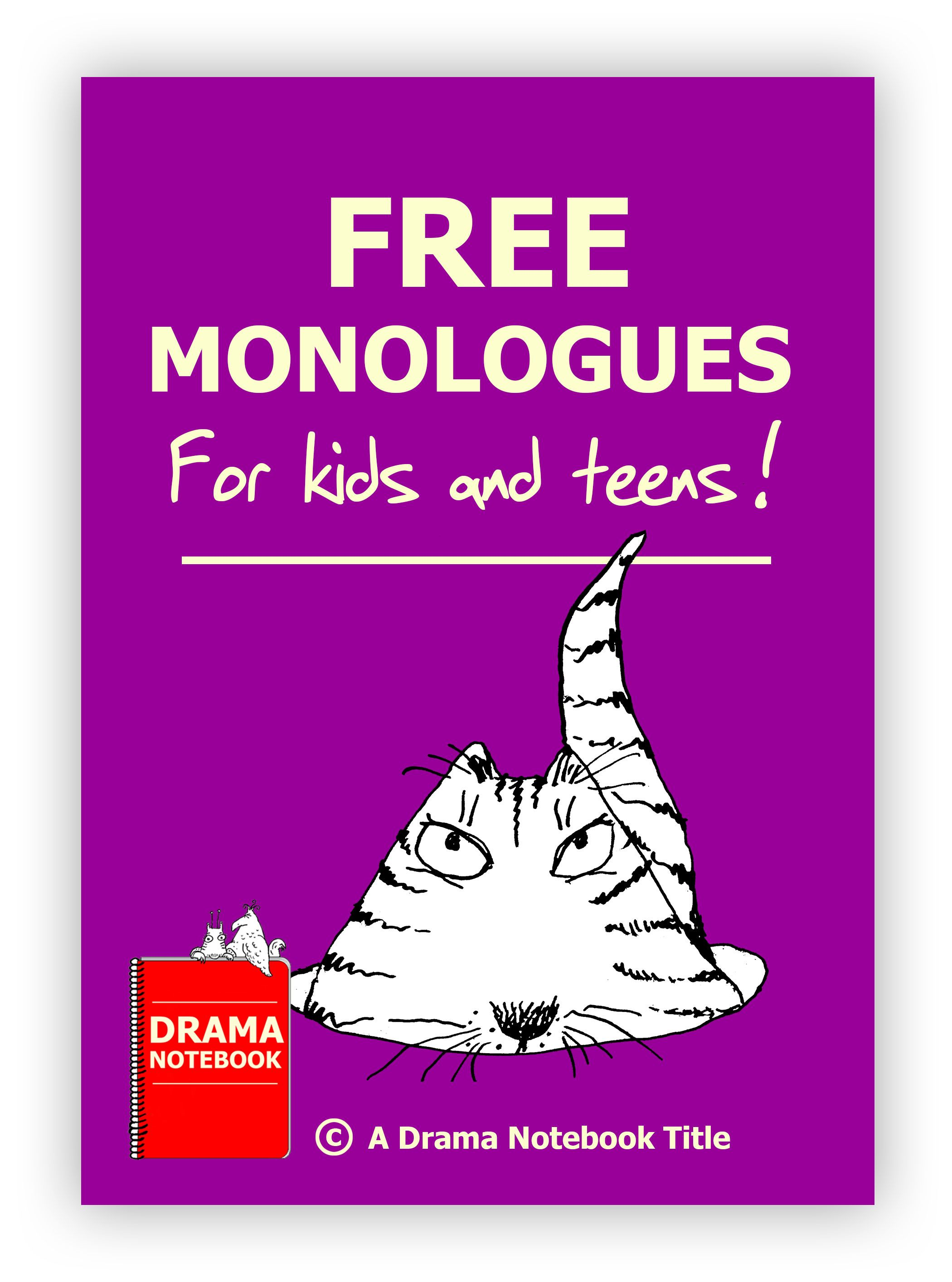 Free Monologues For Kids, Written By Kids  Monologues -9789