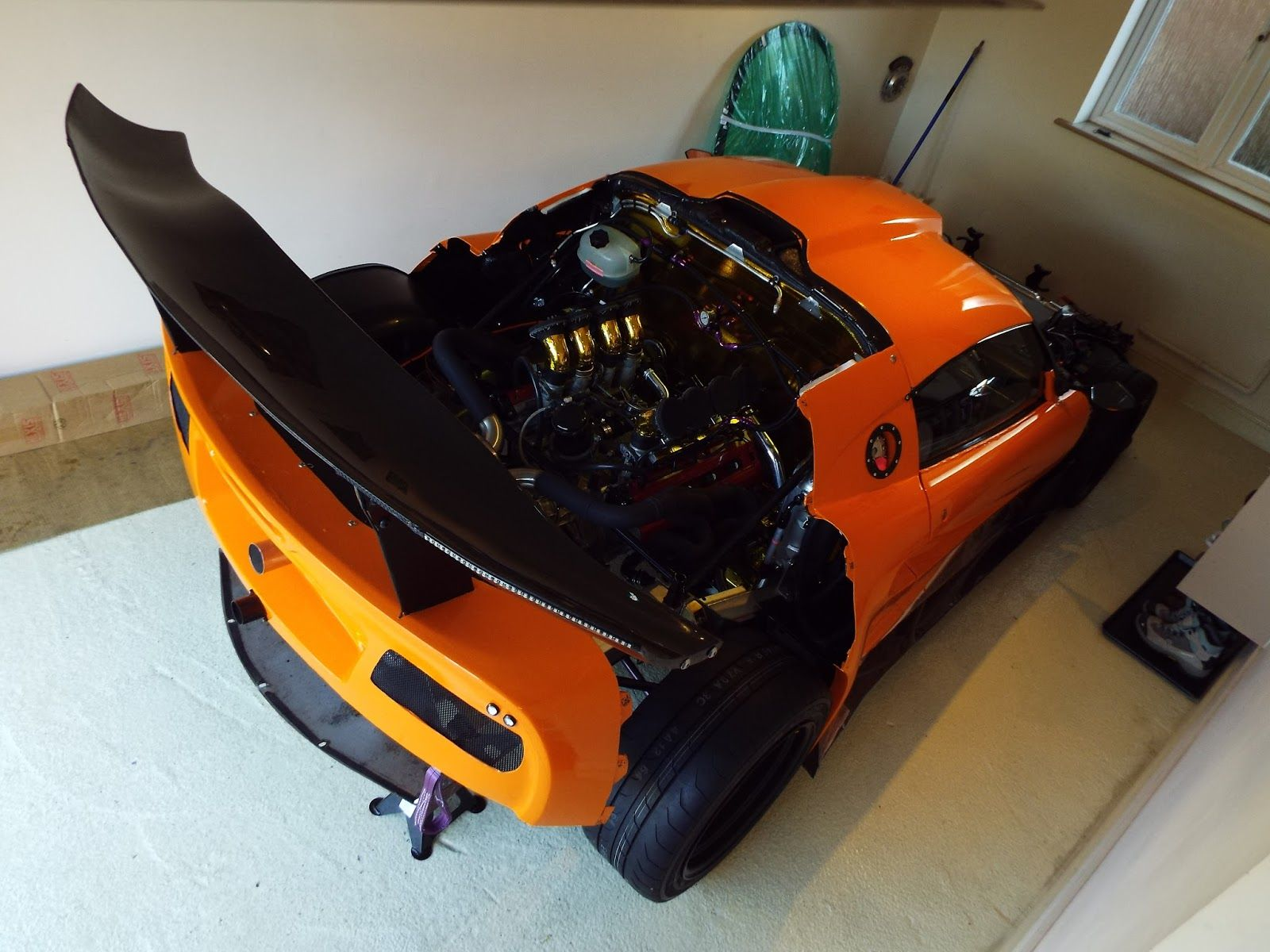 medium resolution of lotus exige with a ferrari f355 v8 lotus exige ls swap baby car seats