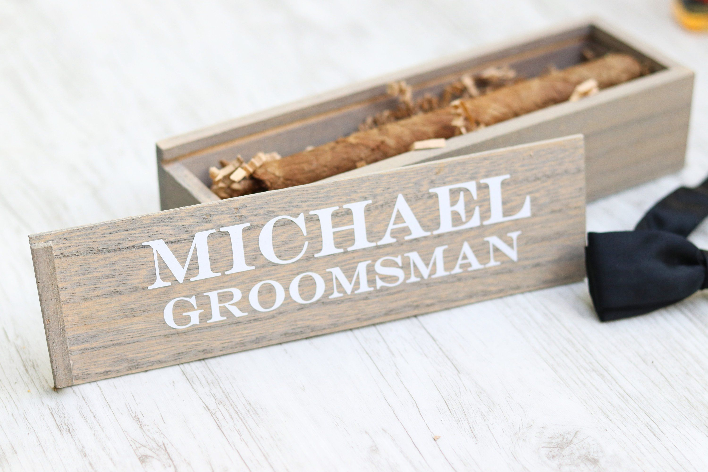Groomsman gift groomsman box groomsmen proposal