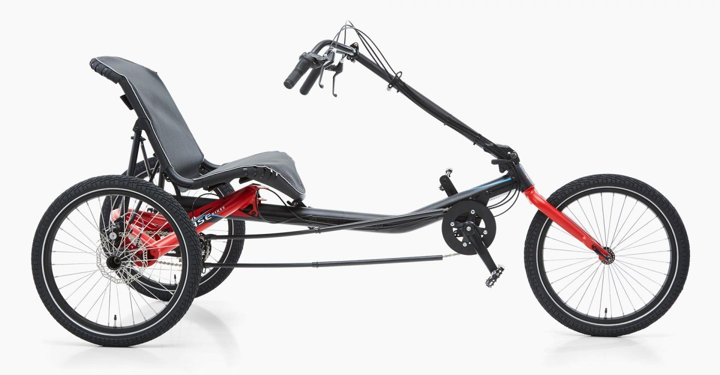 Hase Bikes Trigo Up Recumbent Trike Rad Innovations A Recumbent Trike With Above Seat Steering For That Comfortable Low Rider Bike Recumbent Bicycle Trike