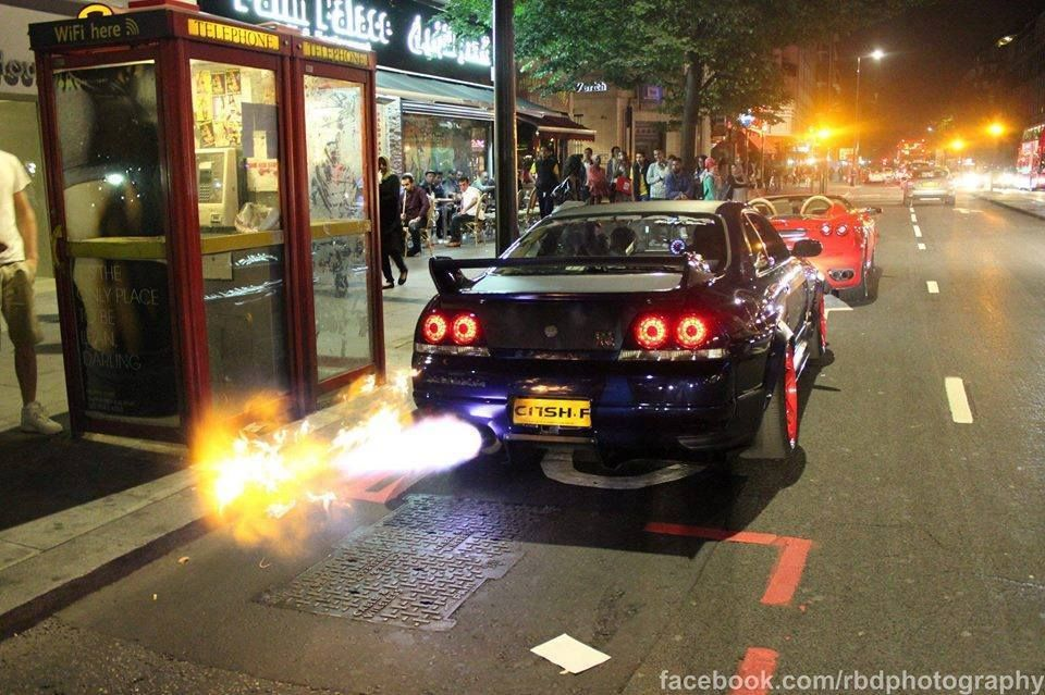 Ordinaire Skyline Back Fire. Skyline GtrNissan ...