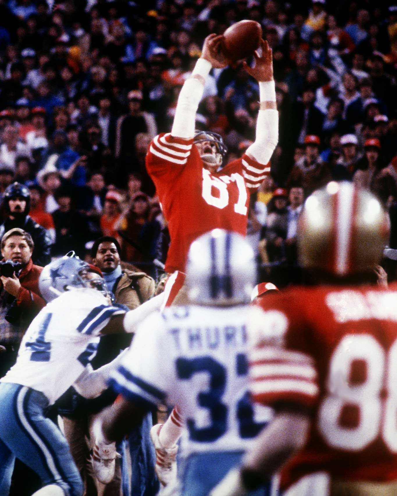 1981 The Catch. NFC Championship Game The Cowboys had a