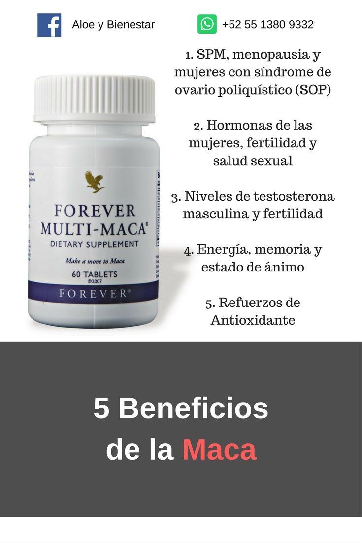 Multi Maca Forever Vigorizante Balancehormonal Ginsen Ovariopoliquistico Forever Products Aloe Vera Gel Forever Multi Maca