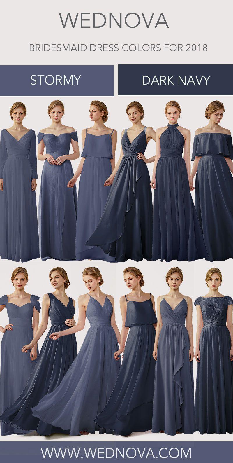 New bridesmaid dress different styles high quality dress cold shoulder dress  stormy  bridesmaiddresses bridesmaid dresses  6d404c87176f