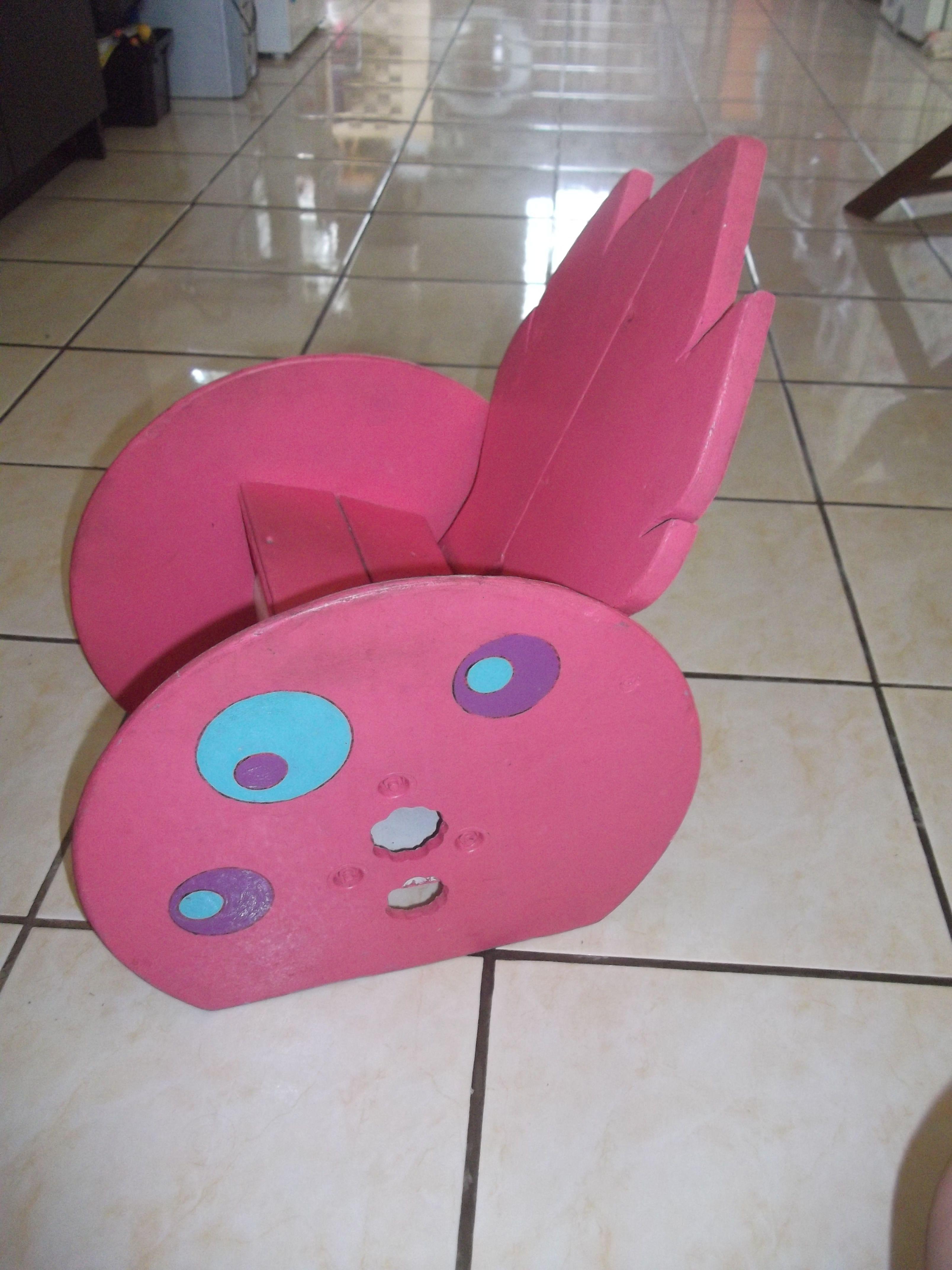 Chaise enfant cr e avec du mat riel de r cup ration un touret lectrique planches - Chaise bois flotte ...