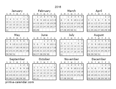 Make Your Own 2014 2015 Or 2016 Printable Calendar Pdf Printable Yearly Calendar Printable Calendar Template Calendar Printables