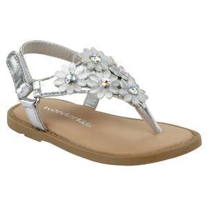 sandals, Girls sandals, Flower girl shoes