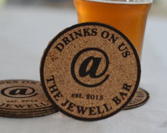 RESERVED Personalized Wood Coasters Set: by LifetimeCreations