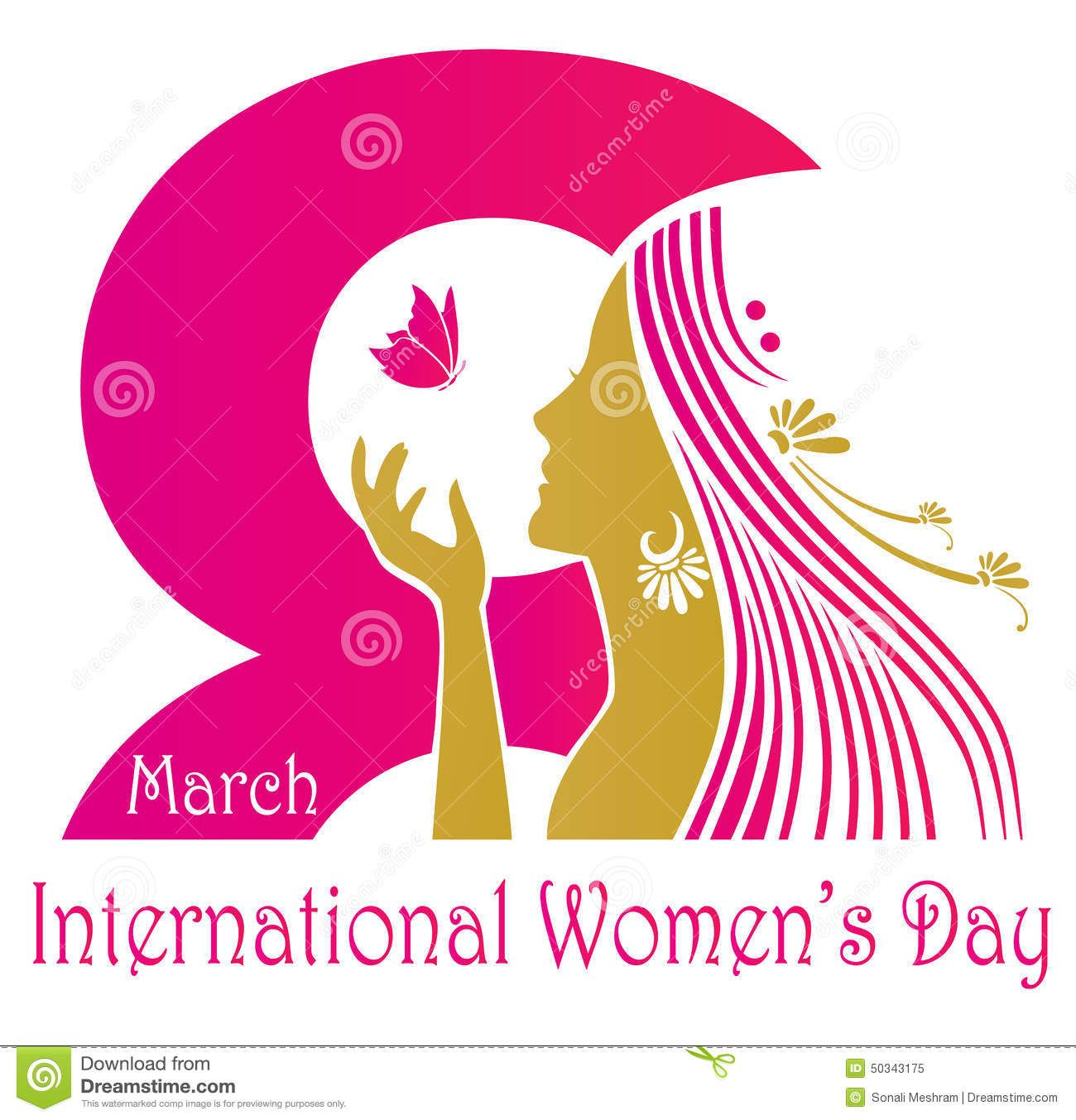 International Womens Day Design Download From Over 56 Million High Quality Stock Photos Images Vect International Womens Day Ladies Day Vector Illustration