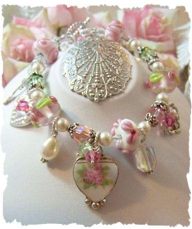 broken china jewelry - Google Search