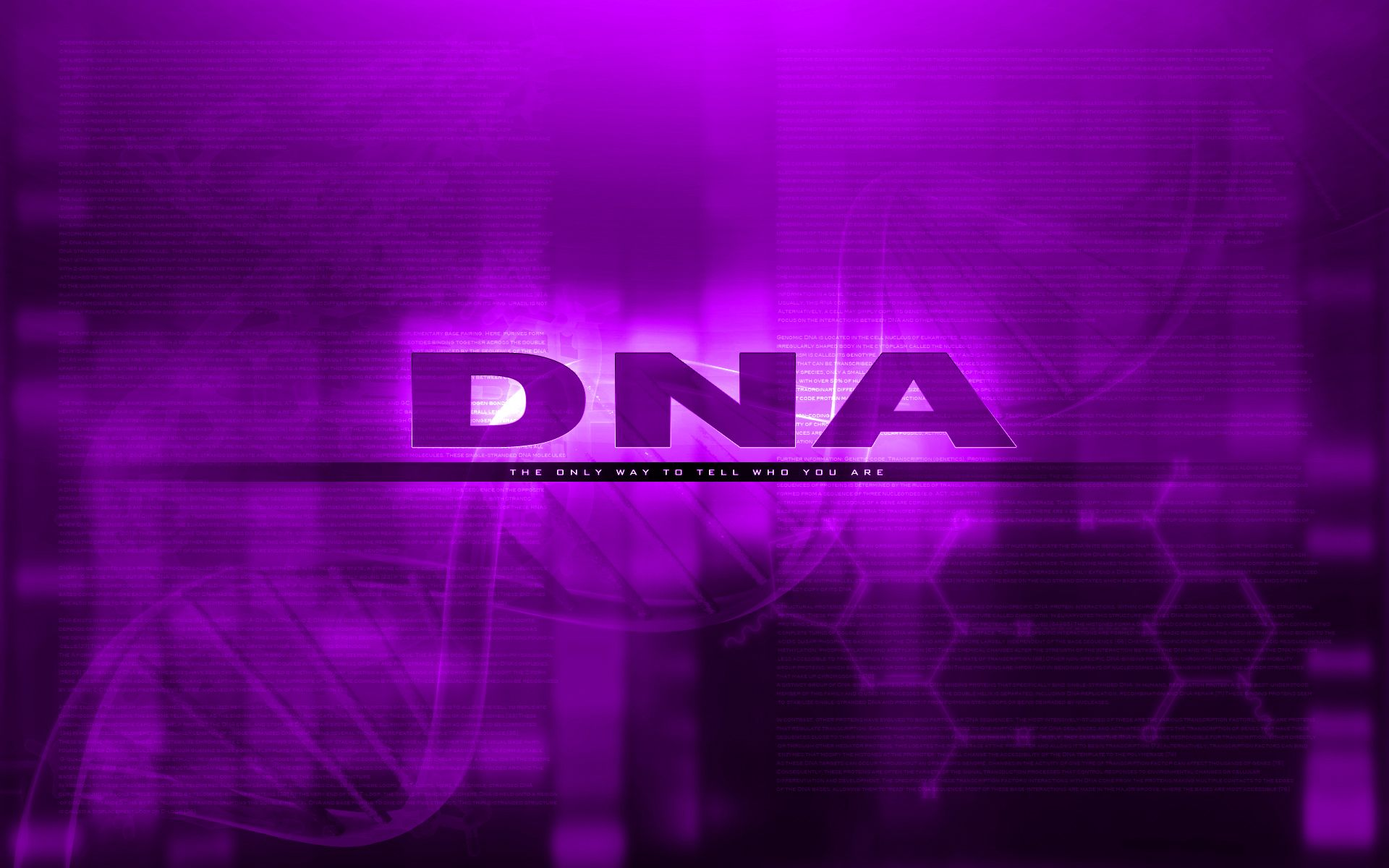 purple DNA Google Search