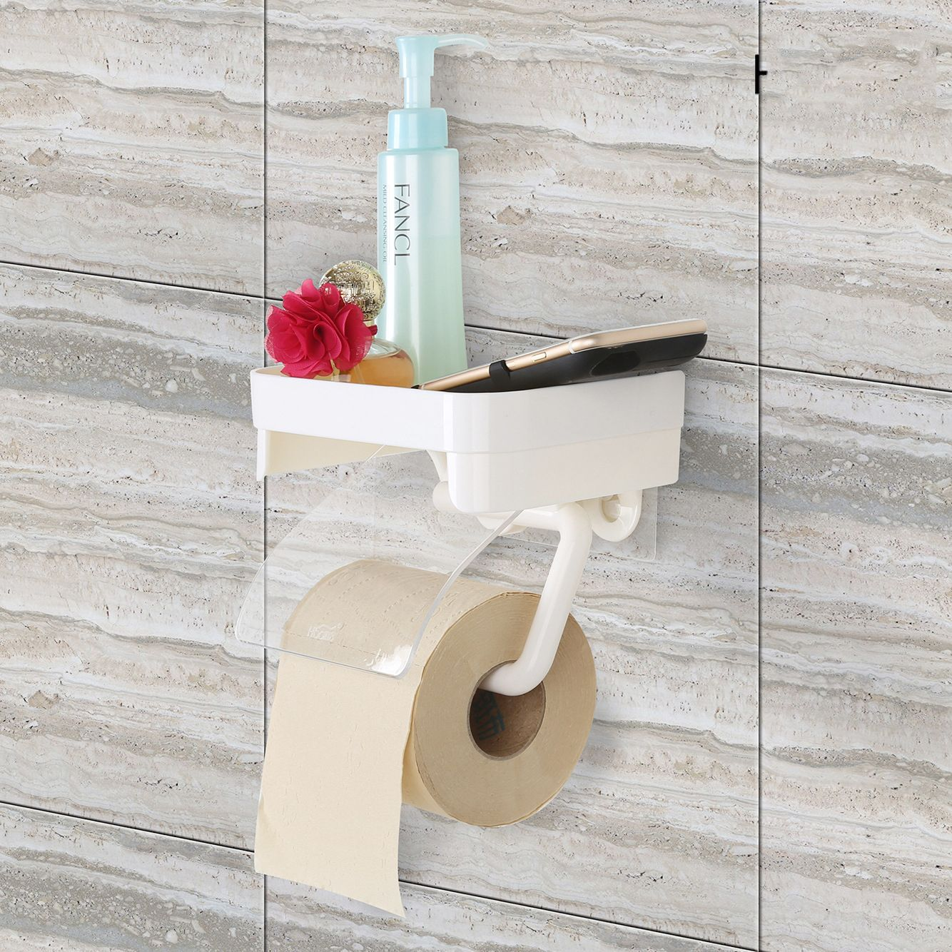 Us 9 99 Honana Sucker Wall Mounted Toilet Paper Holder Bathroom Fixture Plastic Roll Paper Holders Toilet Paper Holder Wall Mounted Toilet Bathroom Fixtures