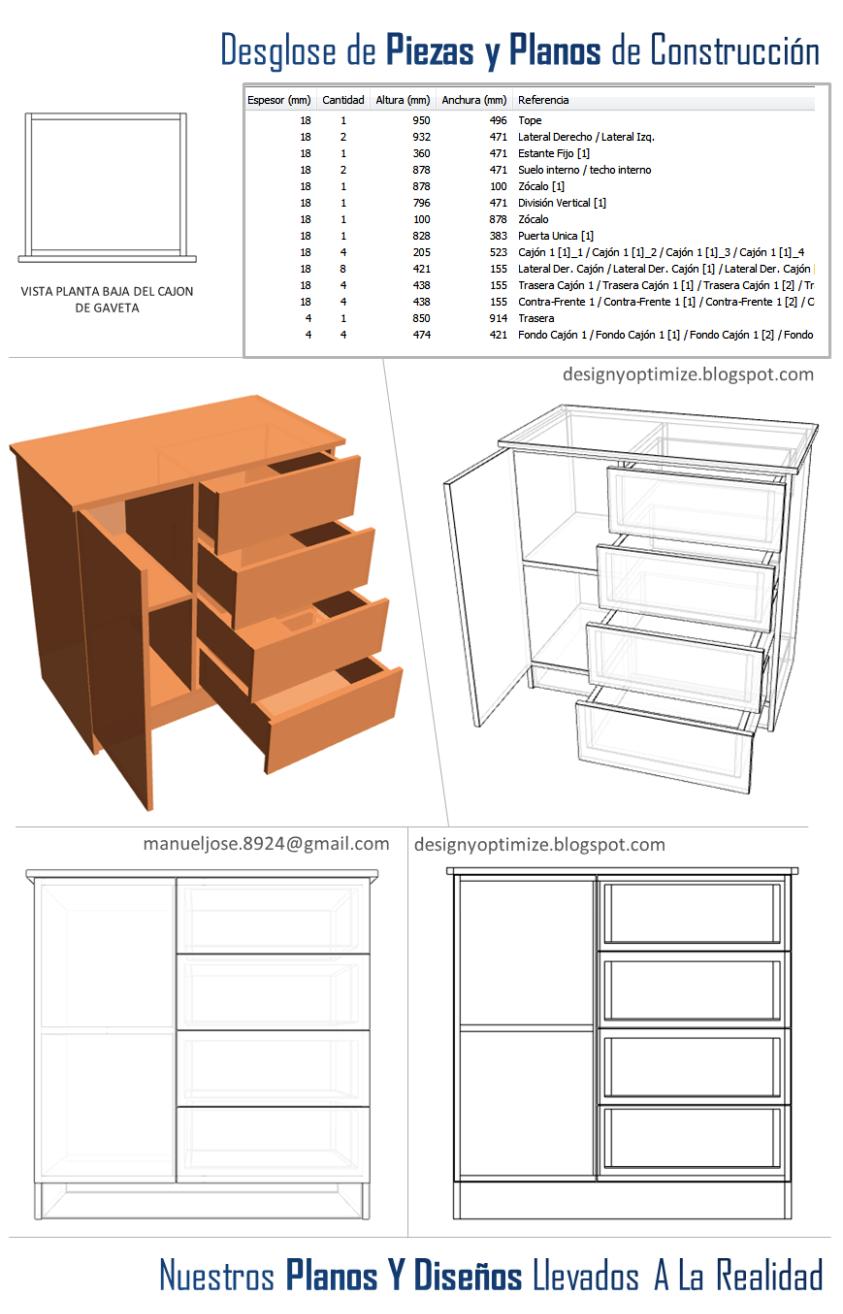 Diseño De Muebles Madera Construir Closet O Armario Chifonier Infantil Con Cajonera Gavetas Planos Fotos Muebles Planos De Muebles Diseño De Muebles
