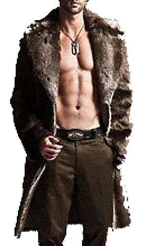 Mens Faux Fur Coat Jackets Full Length Parka Coat Windbreaker Plue Size Fengbay, To SEE or BUY Just CLICK on AMAZON right HERE http://www.amazon.com/dp/B00HTLYQ7Q/ref=cm_sw_r_pi_dp_pDRftb1ZEBSSP7AX