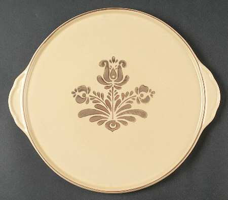 Pfaltzgraff Cake Plate or Platter with Handles In by parkledge $25.00 & Pfaltzgraff Cake Plate or Platter with Handles In Village Pattern ...