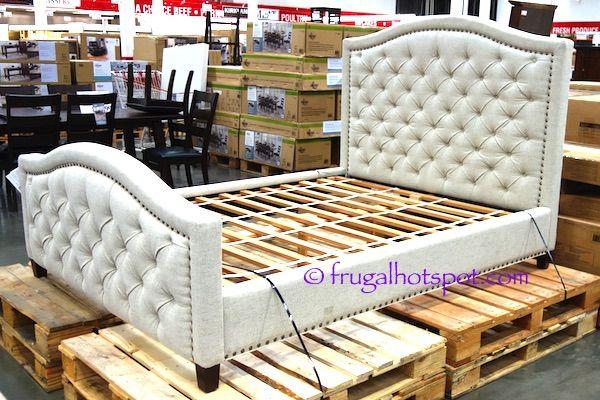 Costco Pulaski Furniture Queen Upholstered Bed 499 99 Queen Upholstered Bed Upholstered Beds Pulaski Furniture