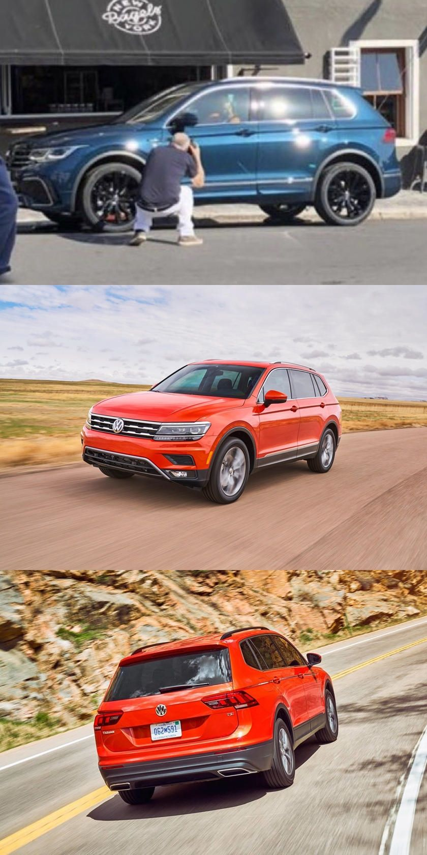 This Is The 2021 Volkswagen Tiguan Before You Re Supposed To See It The Upcoming Volkswagen Tiguan Facelift H In 2020 Volkswagen Infotainment System Geneva Motor Show