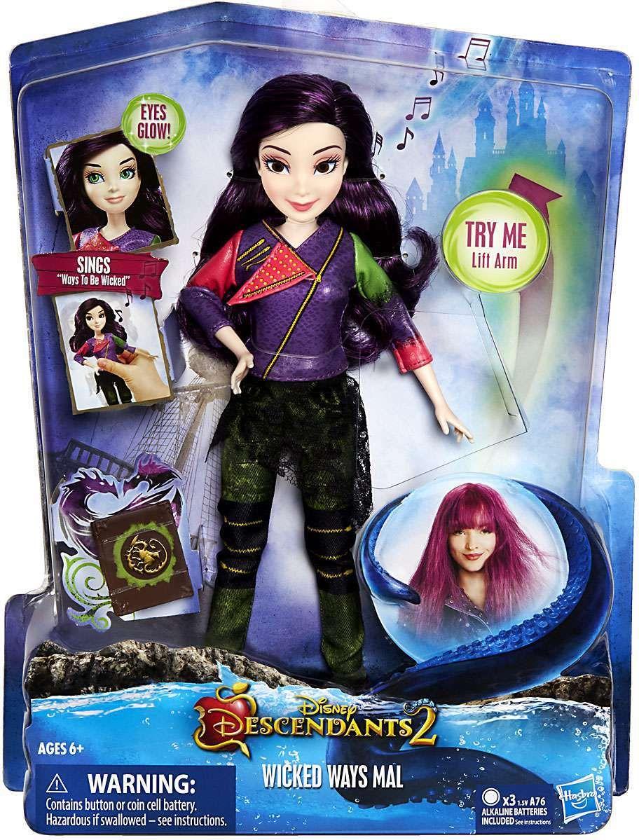 Very Disney Descendants Wicked Ways Mal Fashion Doll | Disney  PR04