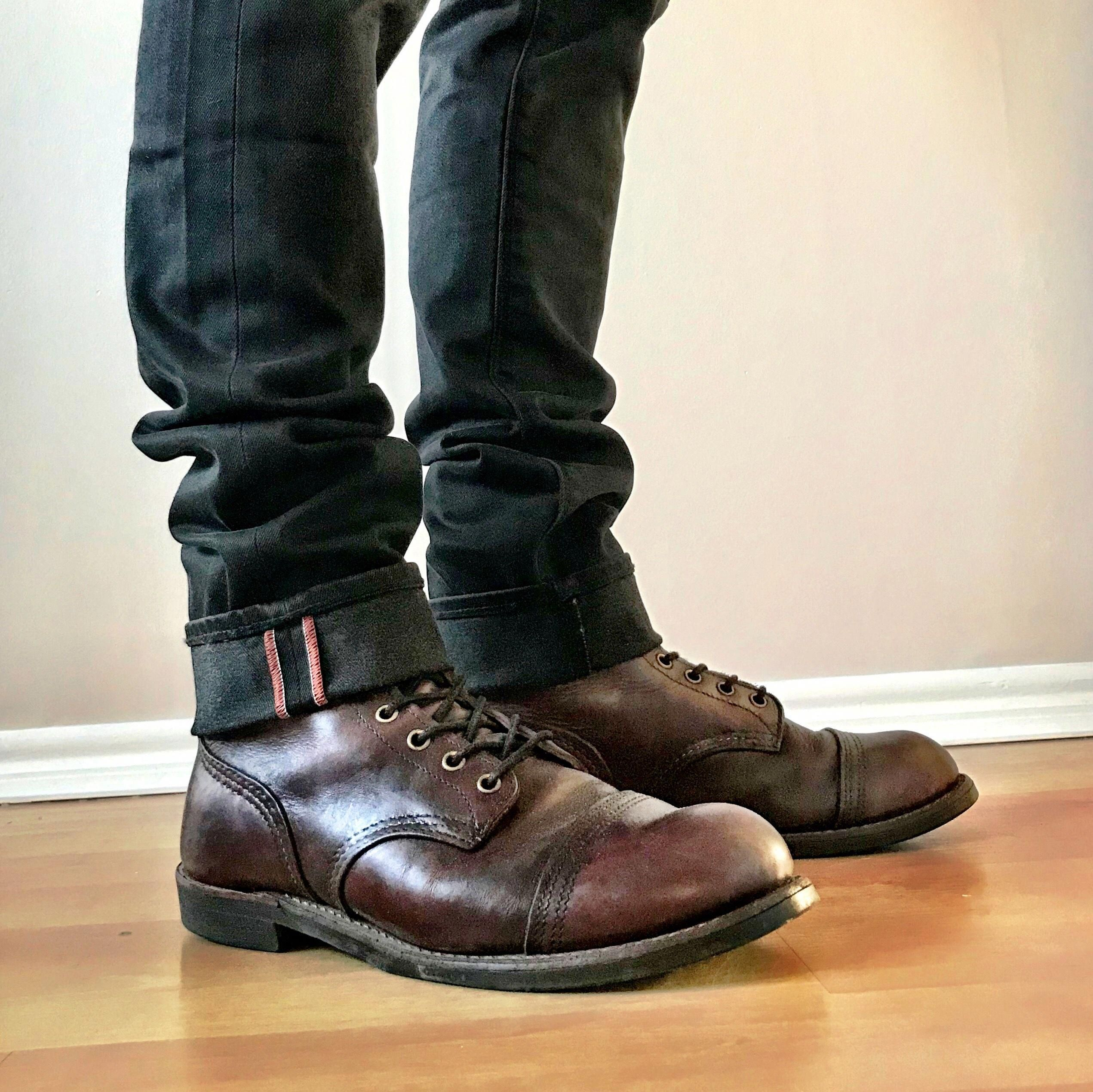 Iron ranger in 2020 | Boots, Red wing iron ranger, Combat boots
