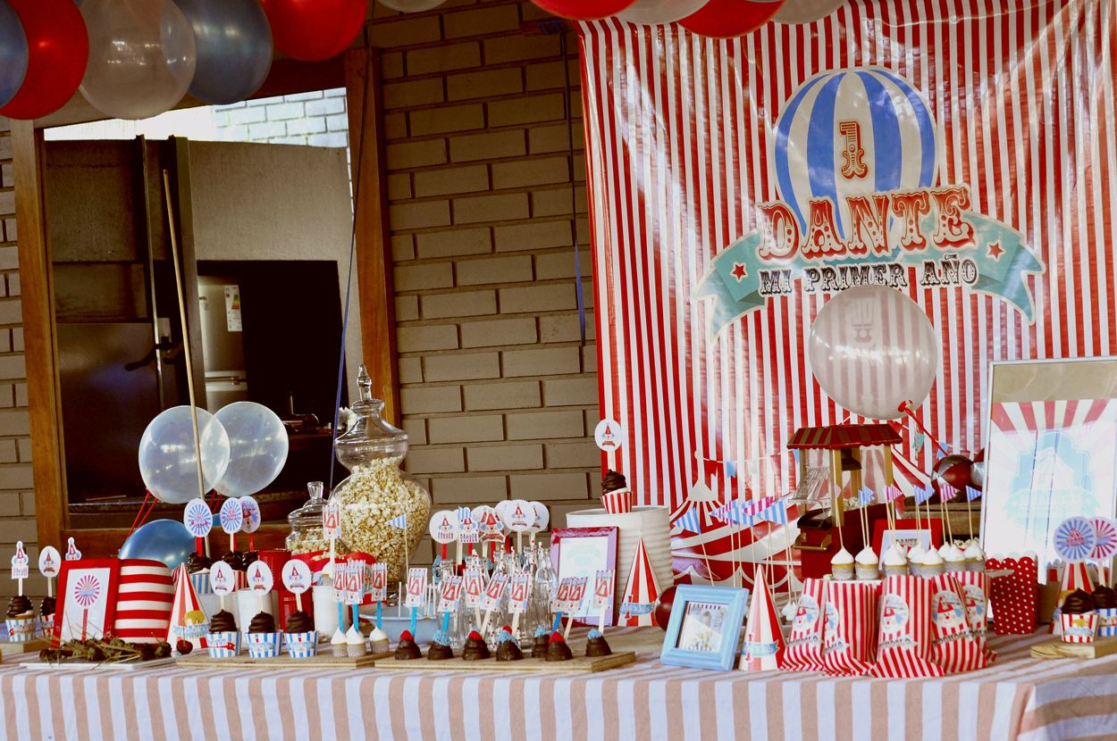 More themes for gmail -  Mesa Dulce Tem Tica Y Ambientaci N Circo Fun Circus And Carnival Theme Party One