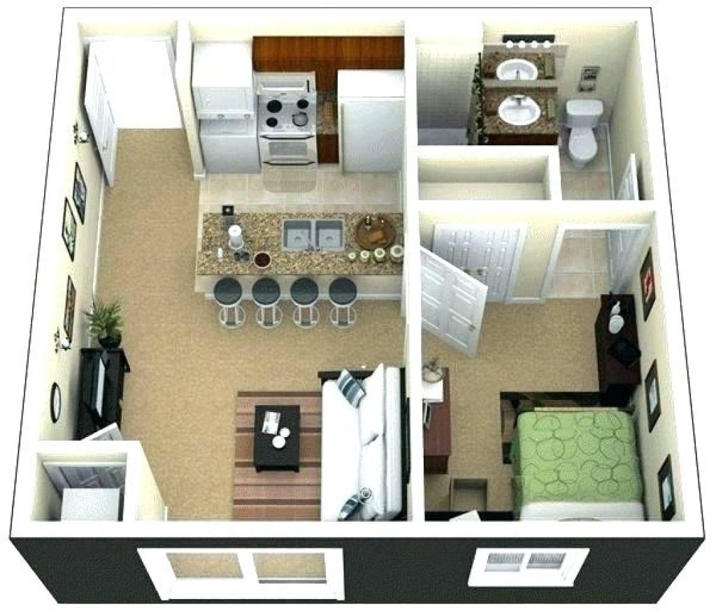 Inspirational Inspirational One Bedroom Apartment Layout Ideas Lv03ds Https Bweb Pro Inspirational One Bed Apartment Design Apartment Floor Plans House Plans