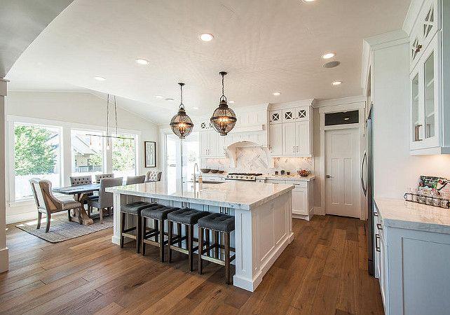 Charmant Kitchen Layout. Open Kitchen Layout. Kitchen And Breakfast Nook Layout.  #KitchenLayout #BreakfastNookLayout J Craft Homes.