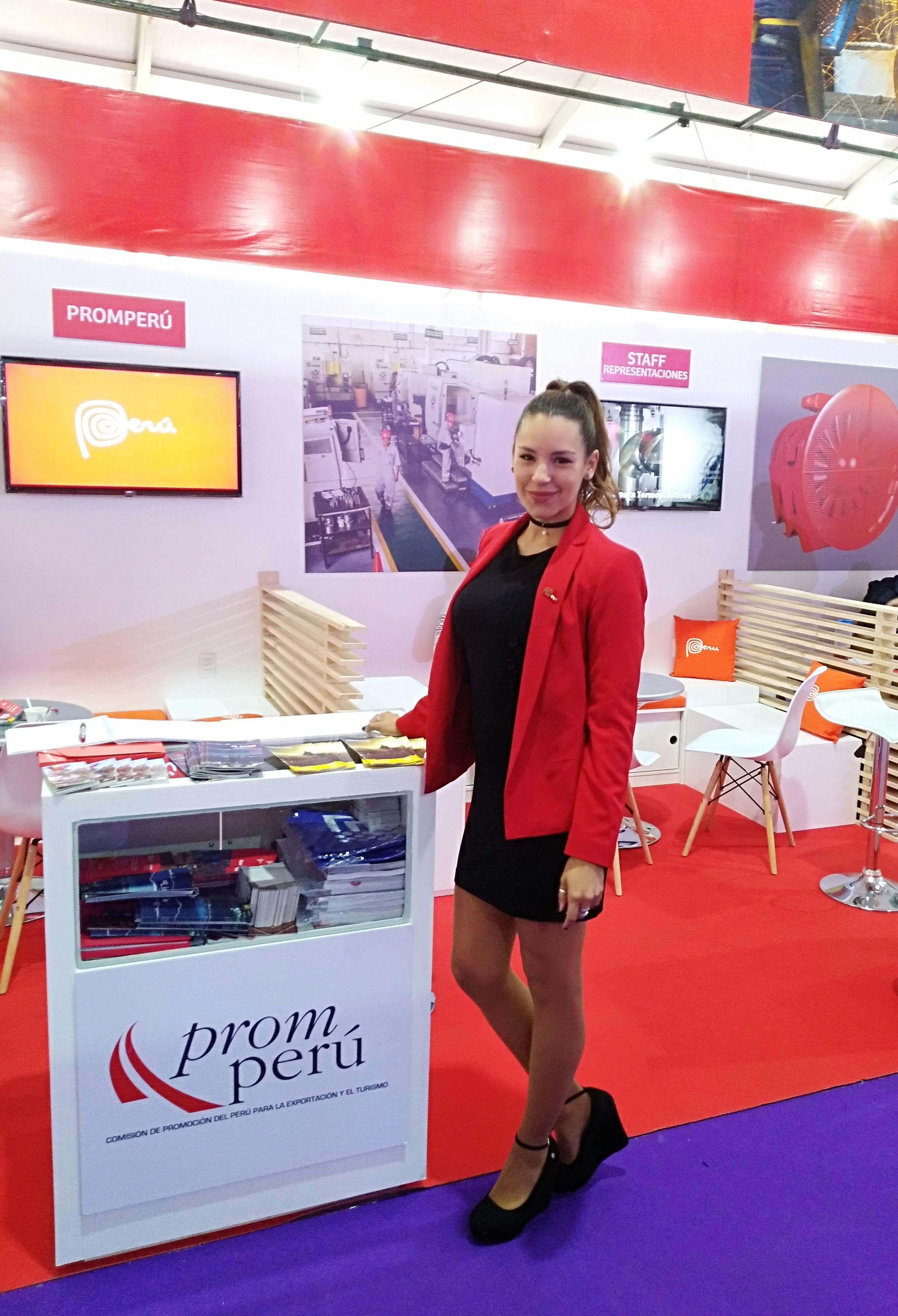 Stand Peru En Expomin 2018 Eventos Modelos Marketing