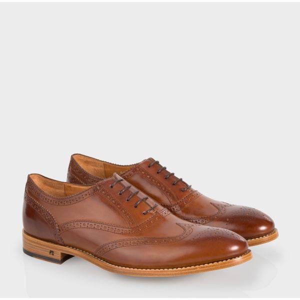 Jetée Un Cuir Chaussures Richelieu En Brun - Brun GtkWwEEI3