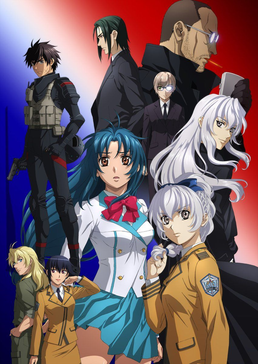 Full Metal Panic! IV Invisible Victory anime New Trailer