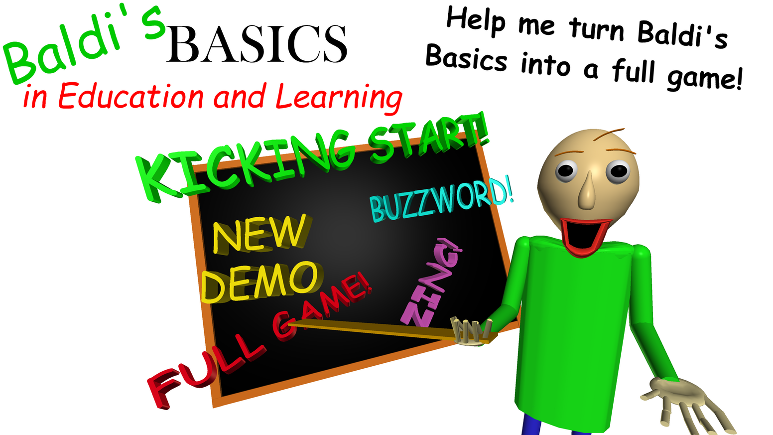 Baldi's Basics in Education and Learning Full game! by