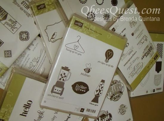 Qbee's Quest: Thursday Tip: Making a Stamp Set Catalog