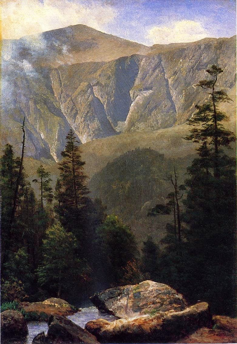Sunlight and Shadow 2 by Albert Bierstadt Giclee Fine Art Print Repro on Canvas