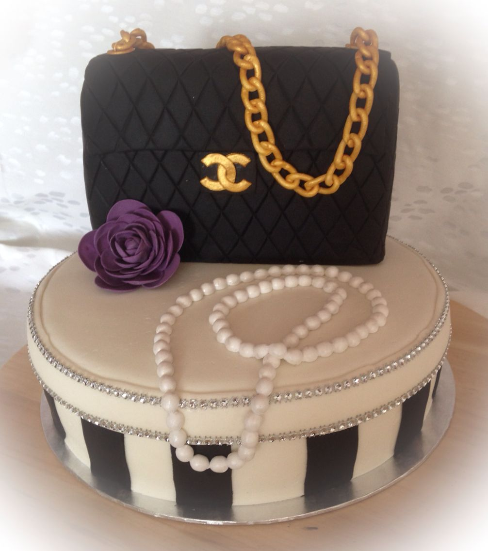 chanel torte tasche handtasche cake bag handbag camelia kamelie gumpaste fondant. Black Bedroom Furniture Sets. Home Design Ideas