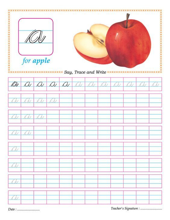 Cursive small letter b practice worksheet | Good ideas | Pinterest ...
