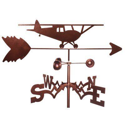 SWEN Products Taildagger Plane Weathervane 1122SIDE