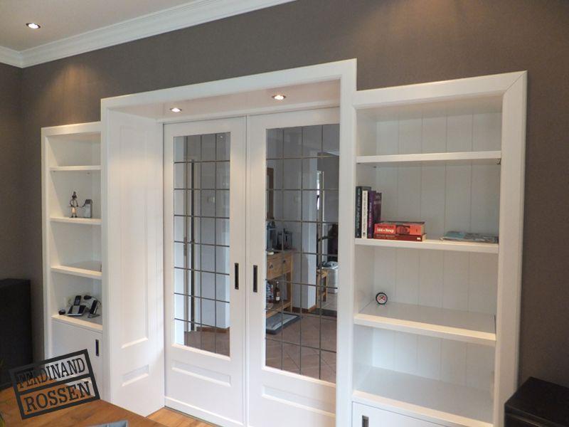 96 keuken afscheiding muur huis keuken pinterest vans licht laminaat witte muren en spotjes - Keuken in het oude huis ...