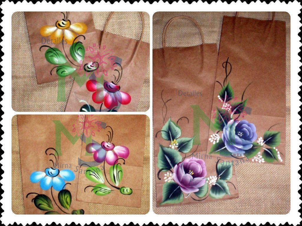 Bolsos papel pintados a mano bolsos pintados - Papel pintado a mano ...