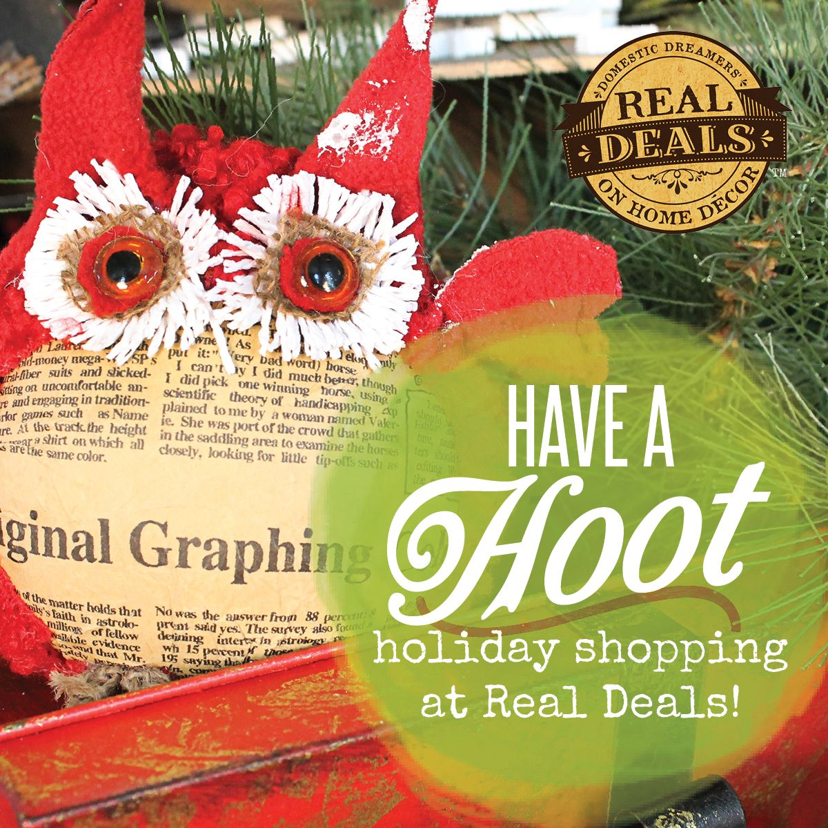 Shop With Real Deals This Holiday Season!