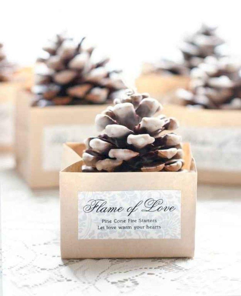 42 Brilliant and Creative Winter Wedding Favors Ideas | Winter ...