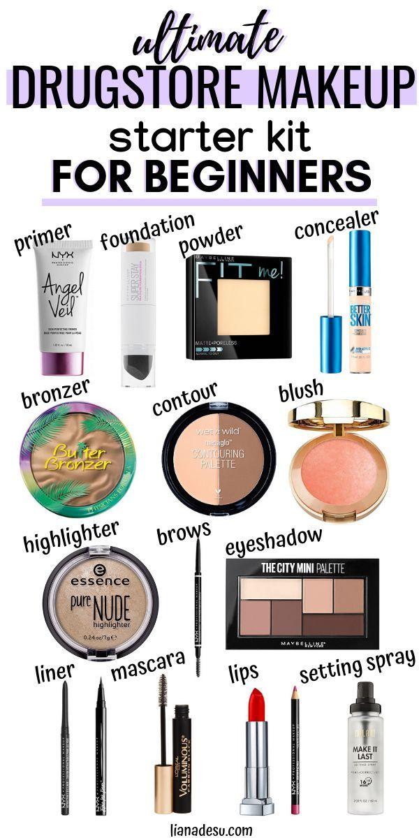Ultimate Drugstore Makeup Starter Kit for Beginners in