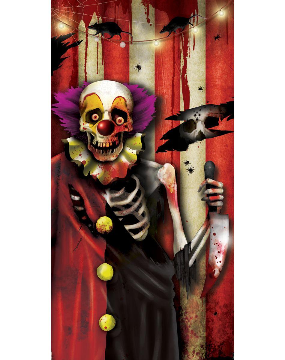 Clown 35Piece Wall Kit Halloween circus, Halloween